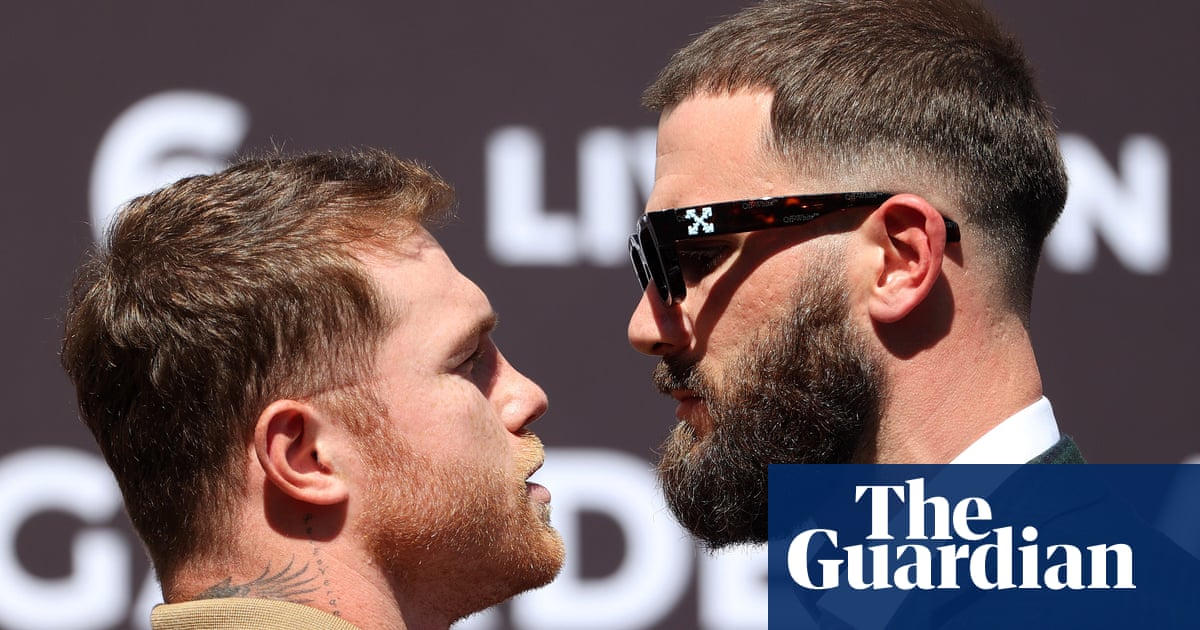 Canelo Álvarez, Caleb Plant trade blows at presser ahead of unification bout