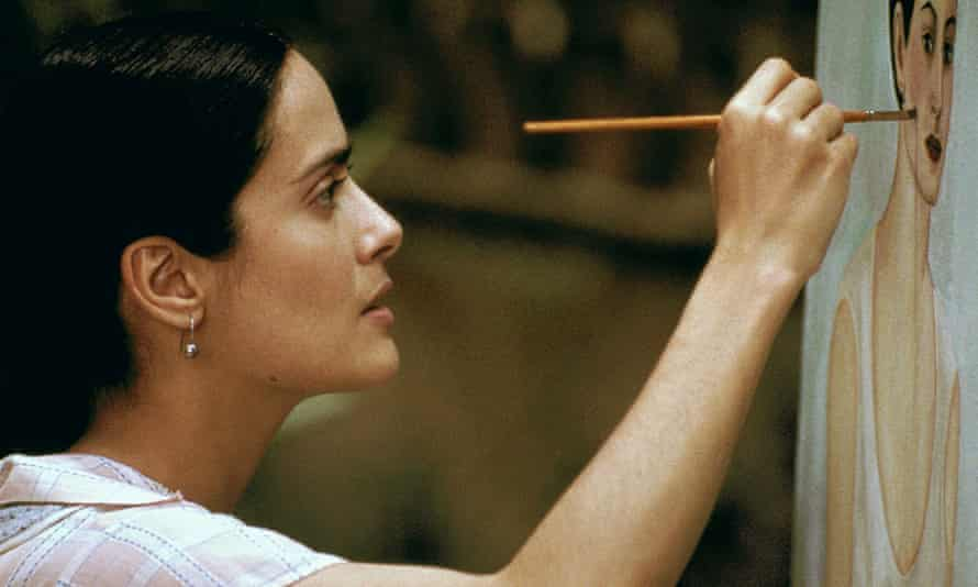 Not a nobody … Salma Hayek as Frida Kahlo in Frida, which she also produced for no payment.