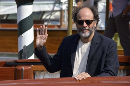 Luca Guadagnino at this year's festival.