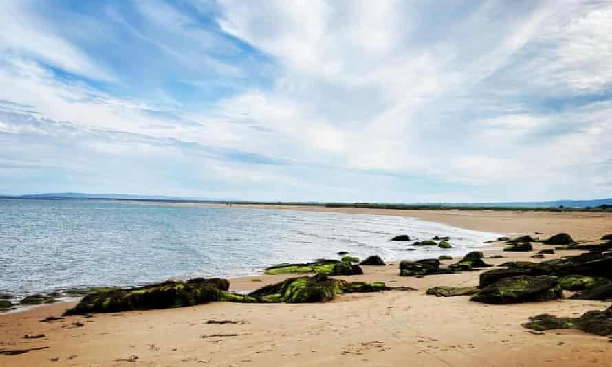 Dornoch beach, Highlands. 'The beautiful, sandy beach always feels special.'