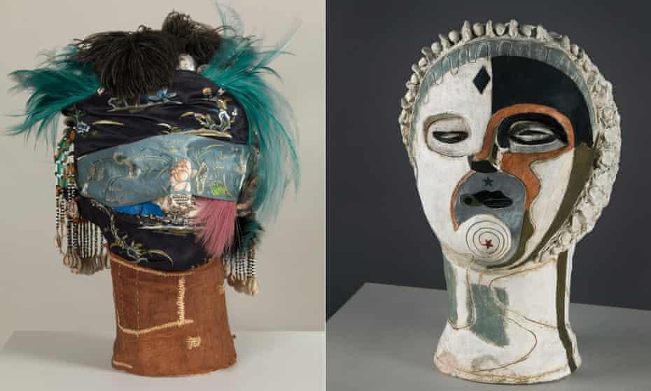 'Magnetically outlandish': Eileen Agar's Angel of Anarchy, 1936-1940 (left) and Angel of Mercy, 1934.