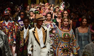 e47492dac5 Dolce & Gabbana: Milan fashion show's unlikely champions of diversity