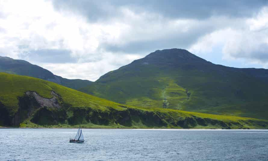 The Isle of Jura by the Sound of Islay, Scotland
