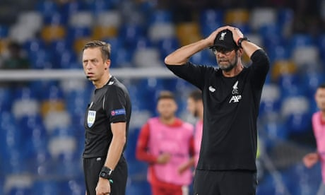 Klopp asks media 'does anyone in the room think it was a penalty?' – video