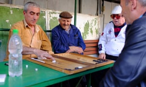 A daily game of backgammon