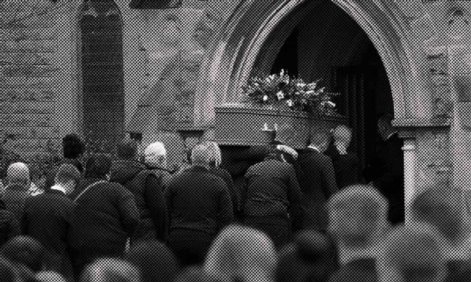 Funeral of 16-year-old Leonne Weeks at St Leonard church in Dinnington.