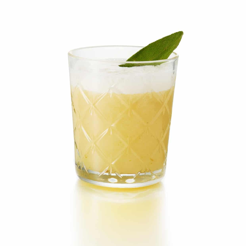 Cóctel Whirling Dervish: una versión del Tequila Sour a base de pera