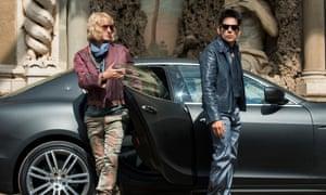 So bad they made it twice: Owen Wilson and Ben Stiller in Zoolander 2.
