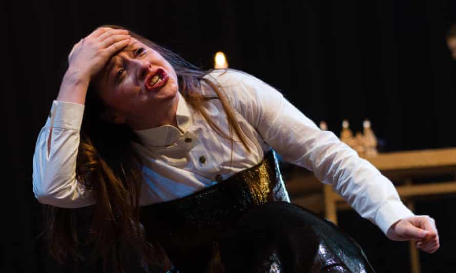 Brilliant … Rosie Sheehy as King John at Stratford.