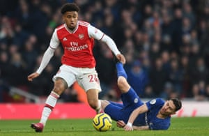 Reiss Nelson says: 'You try and do some stuff you'd do when you were younger and hopefully it'll come off.'