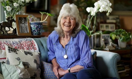 Vivid characters … Jilly Cooper.