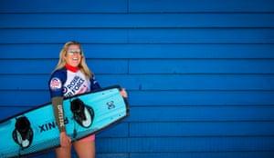 Cpl Sarah Partridge, wakeboarder