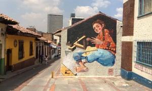 Bogota street art by Bln Bike.
