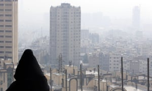 According to official news reports air pollution has killed more than 400 people in Tehran in the past month.