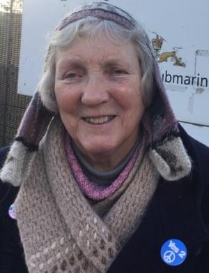 'I still go back sometimes' ... Mary Millington.