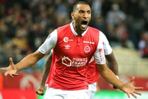 Yunis Abdelhamid was on the scoresheet for Reims as they beat Montpellier this weekend.