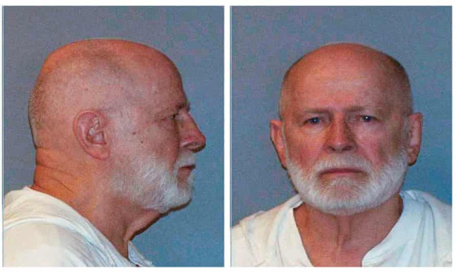 Whitey Bulger in his booking photo in 2011.