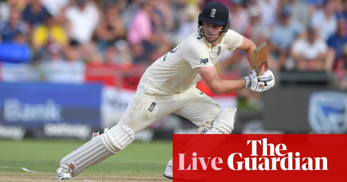 South Africa v England: second Test, day four – live!
