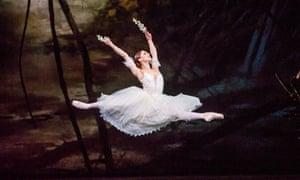 'She seems to bend time': Marianela Núñez as Giselle.
