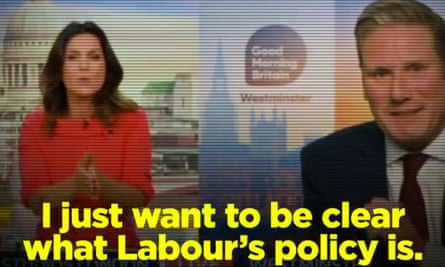 The Tory version of Sir Keir Starmer's interview.