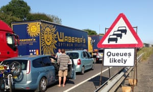 Researchers estimate just two extra minutes of checks could triple existing queues at ports, potentially leading to 29-mile motorway tailbacks in Kent.