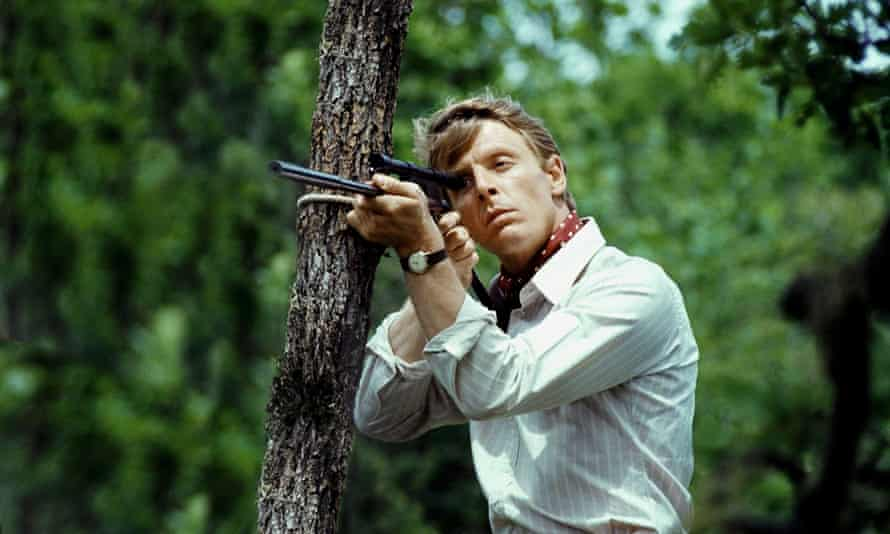 Edward Fox as the assassin in Fred Zinnemann's 1973 film The Day of the Jackal.