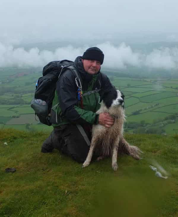 Jeremy Prescott, who died after being hit by lightning in the Brecon Beacons.