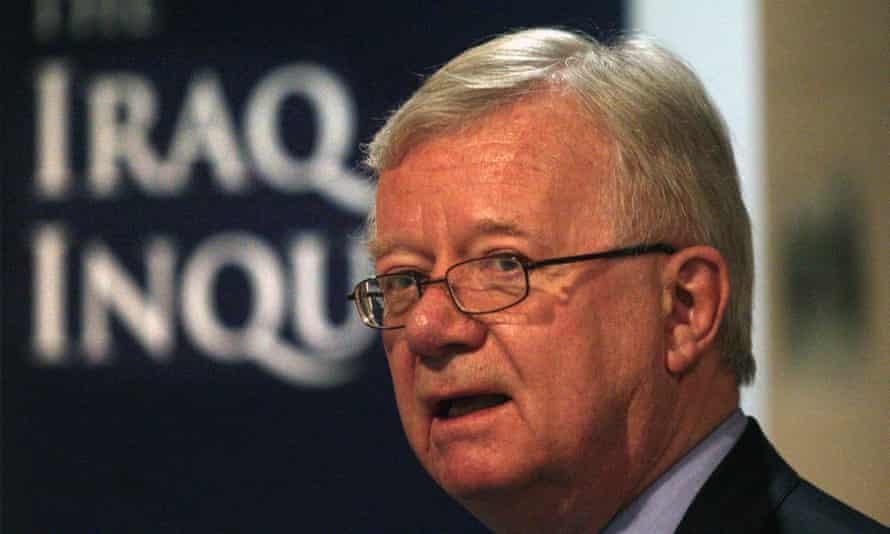 The chairman of the Iraq war inquiry, Sir John Chilcot