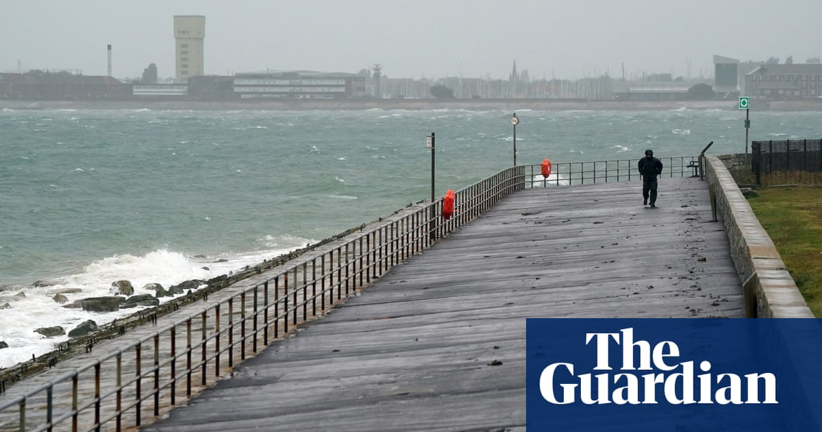 UK weather: heavy rain expected to lash northern England