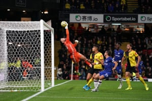 Ben Foster keeps Chelsea out again!