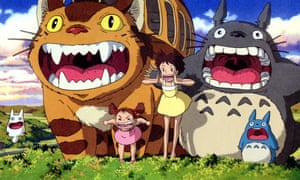 Hayao Miyazaki's 1988 film My Neighbour Totoro: 'pan-generational appeal'.