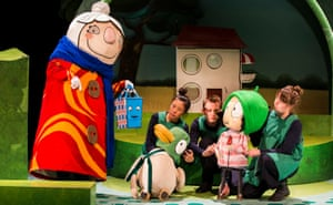 Nothing spontaneous can happen … Sarah and Duck's Big Top Birthday.