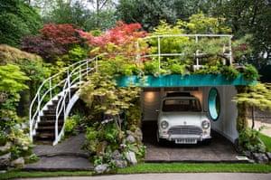 The Senri-Sentei - Garage Garden designed by Kazuyuki Ishihara