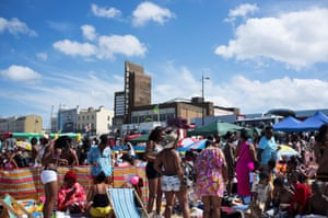 """On July 28th 2013 thousands of visitors celebrating Jamaican Independence Day came to Margate in the old """"beano"""" tradition"""