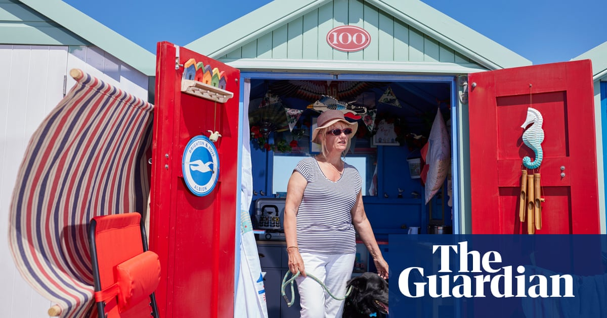 Sun, swimming, smoking and seagulls: a day in the life of beach hut Britain