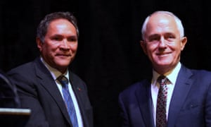Rod Little with Malcolm Turnbull in February