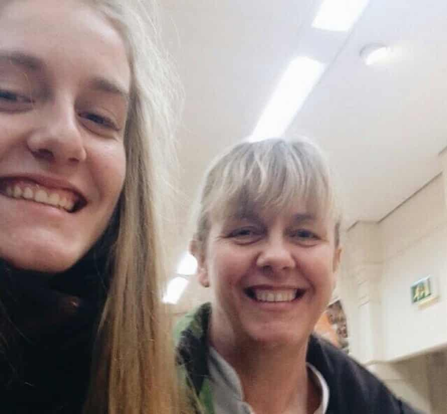 Charlotte Hart and her mother Claire