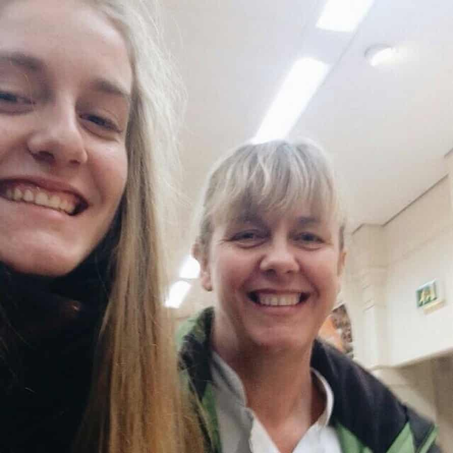 Spalding shooting victims – Charlotte Hart and mother Claire Hart.