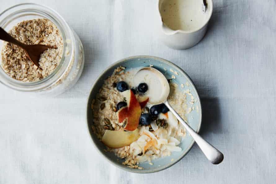 Anna Jones' DIY instant porridge.