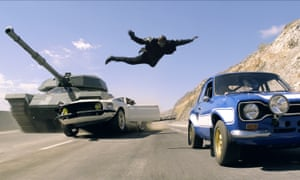 A scene from Fast and Furious 6
