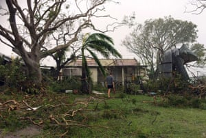 Yeppoon bore the brunt of the storm. Across Queensland, 134 schools and 43 childcare centres were closed, according to national broadcasters.