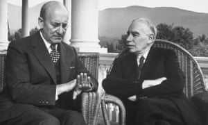 John Maynard Keynes with US treasury secretary Henry Morgenthau at Bretton Woods in 1944. Now is the time to mobilize.