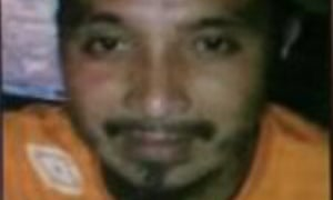 An image of Philippines Isis leader known as 'Abu Dar', or Benito Marohombsar.