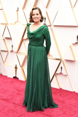 Sigourney Weaver attends the 92nd Annual Academy Awards