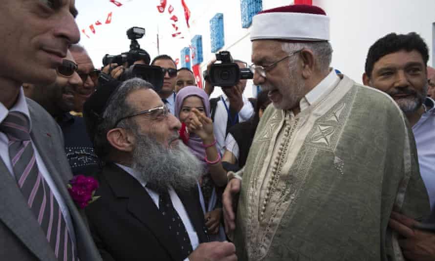 'Tunisia protects its Jews' said Abdelfattah Mourou, Tunusia's deputy speaker of parliament, at the event.