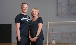 Nick Mallaband and Eileen Hetherington.