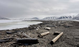 Echoes of the Arctic … Priest's imaginary islands have a grey vibe to them. Photograph: Reuters
