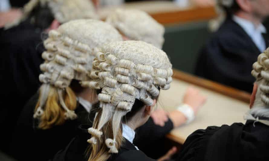 barristers wearing wigs