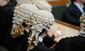 Judges and barristers wigs