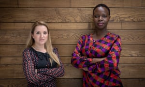 Sophie Otiende from Haart Kenya and Michelle Oliel from Stahili foundation